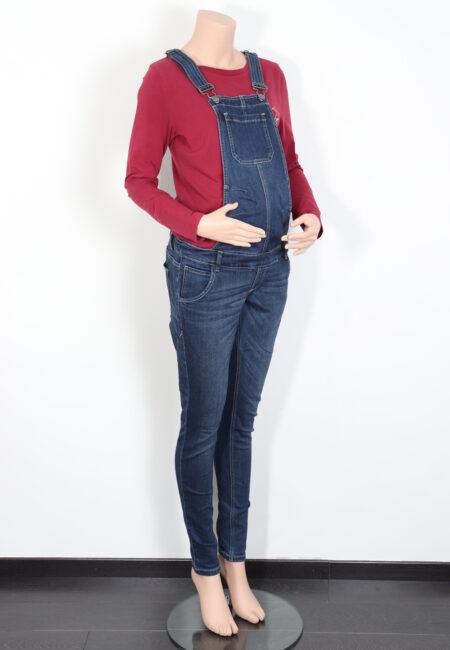 Blauwe jeanssalopette, Mamalicious, S