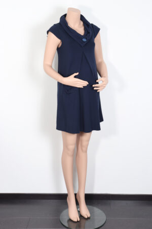 Donkerblauw kleedje, FT, S