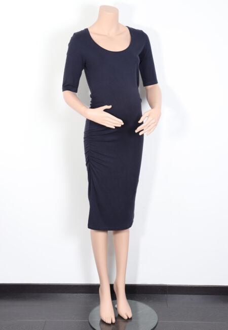 Donkerblauw kleedje, Noppies, XS