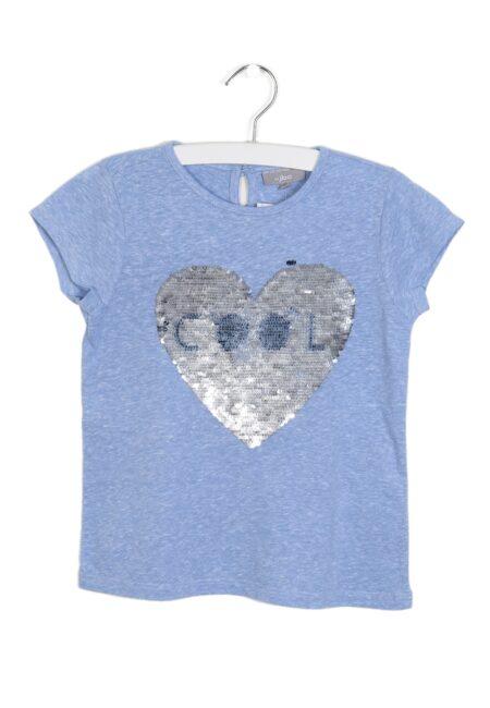 Lichtblauw t-shirtje, JBC, 116