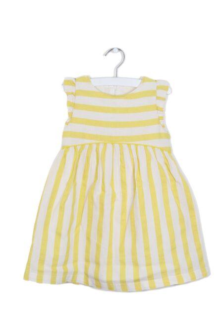 Geel kleedje, F&F, 98
