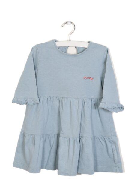 Blauw kleedje, F&F, 98